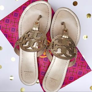 Tory Burch | Gold Miller Sandals
